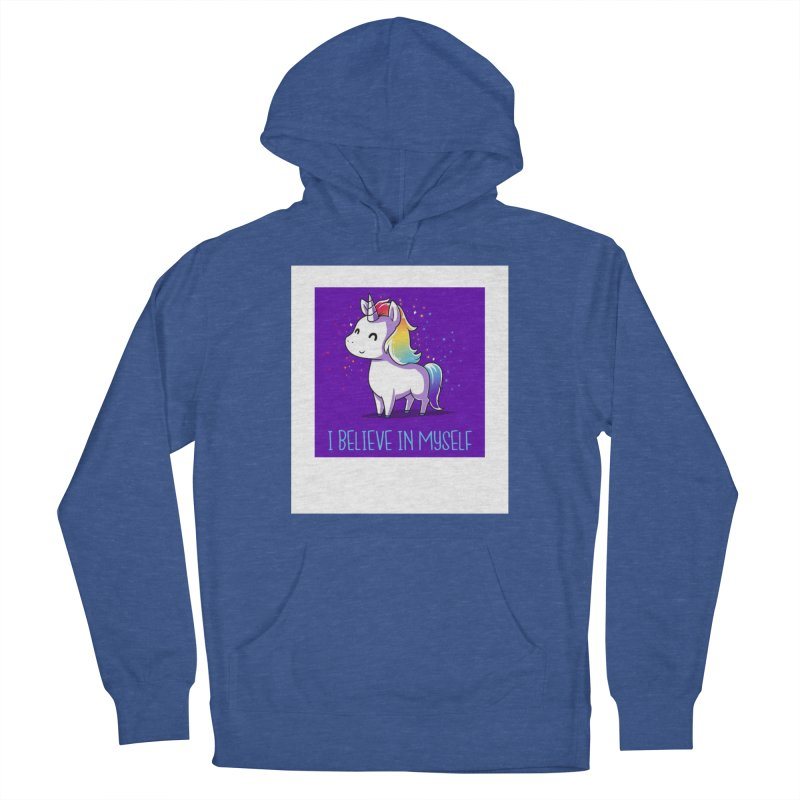 I Believe In Myself Women's French Terry Pullover Hoody by thelyndsimae's Artist Shop