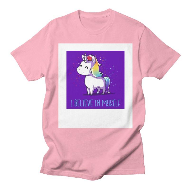 I Believe In Myself Women's Regular Unisex T-Shirt by thelyndsimae's Artist Shop
