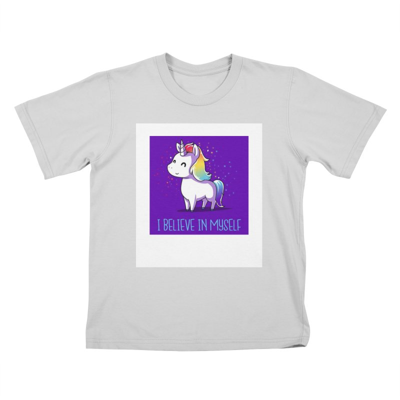 I Believe In Myself Kids T-Shirt by thelyndsimae's Artist Shop