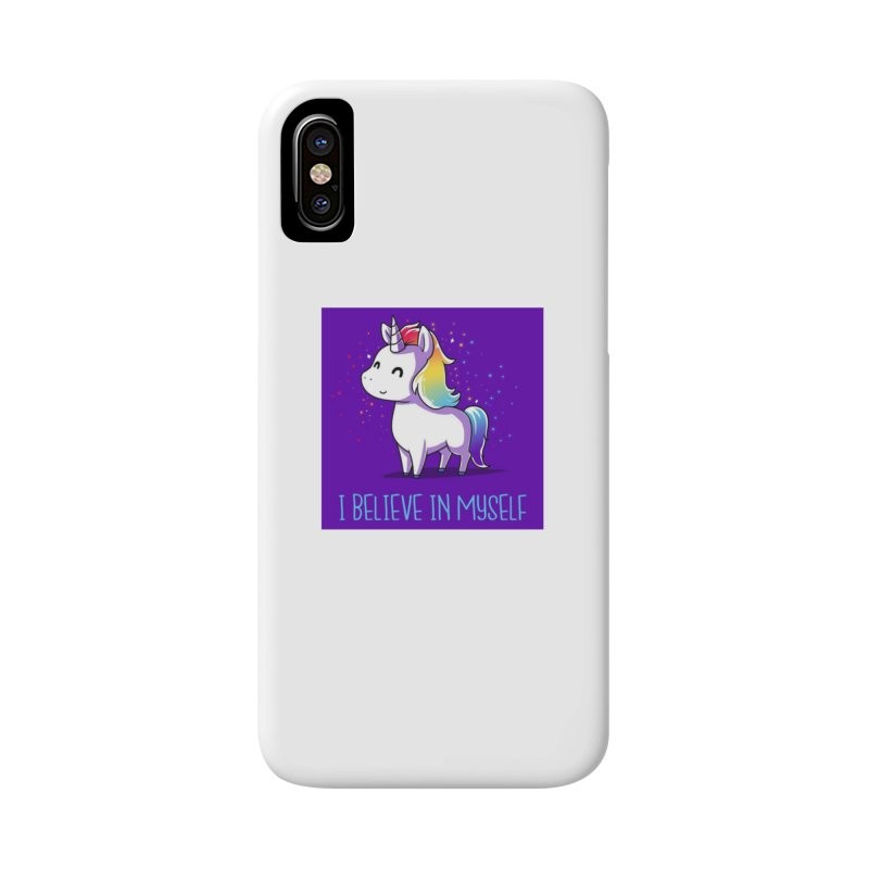 I Believe In Myself Accessories Phone Case by thelyndsimae's Artist Shop