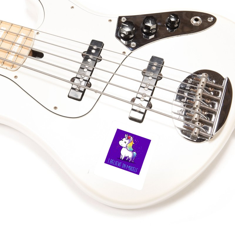 I Believe In Myself Accessories Sticker by thelyndsimae's Artist Shop