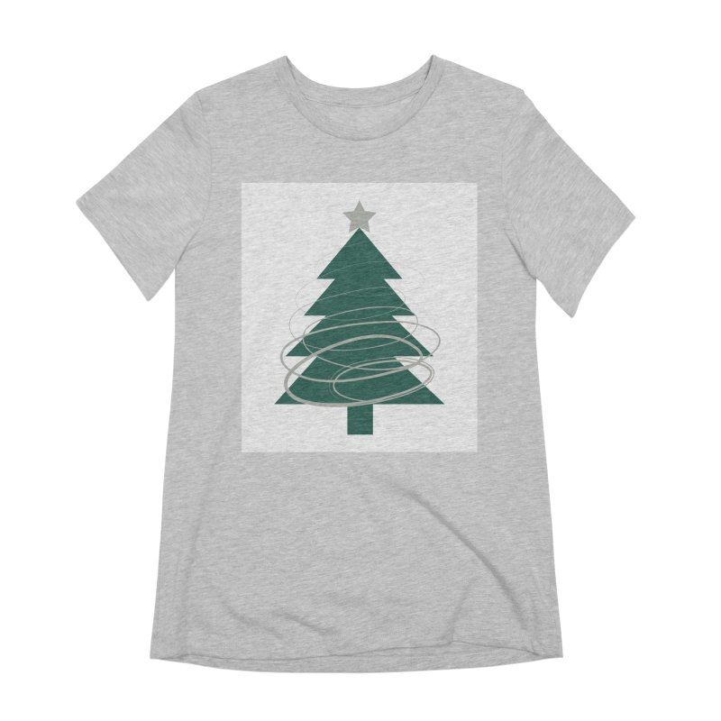 Oh Christmas Tree Women's Extra Soft T-Shirt by thelyndsimae's Artist Shop