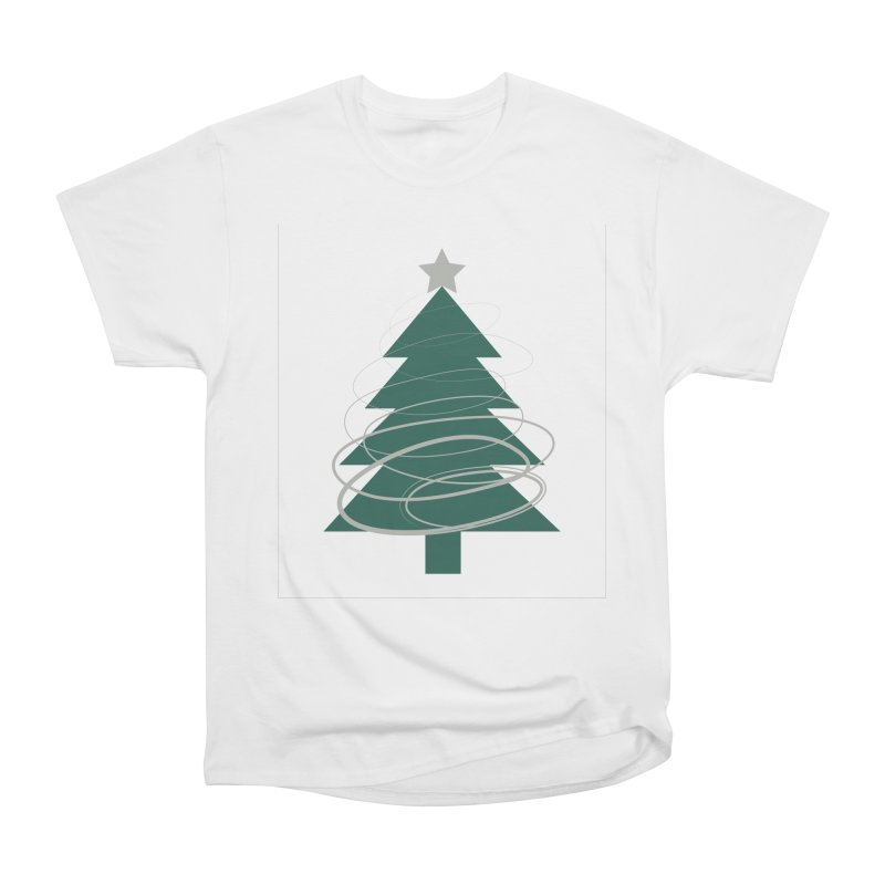 Oh Christmas Tree Women's Heavyweight Unisex T-Shirt by thelyndsimae's Artist Shop