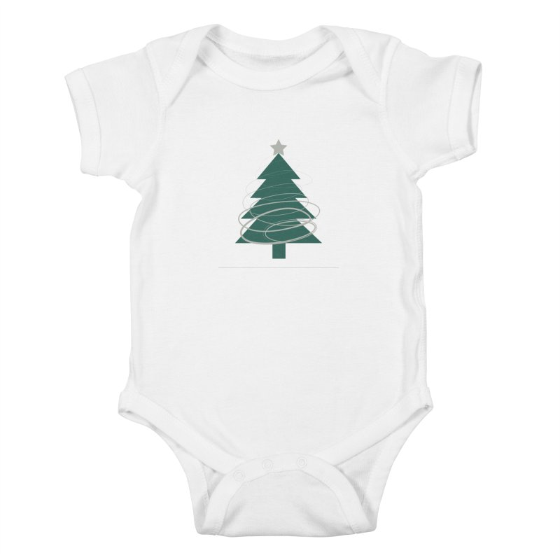 Oh Christmas Tree Kids Baby Bodysuit by thelyndsimae's Artist Shop