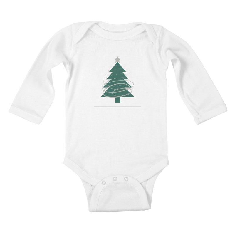 Oh Christmas Tree Kids Baby Longsleeve Bodysuit by thelyndsimae's Artist Shop