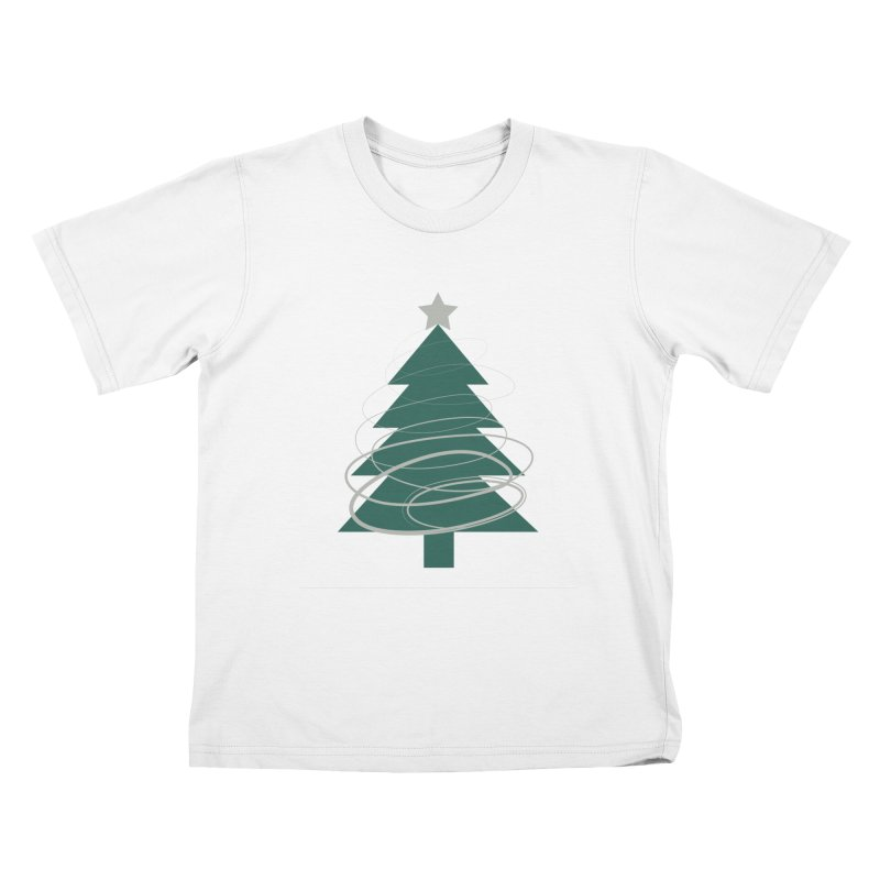 Oh Christmas Tree Kids T-Shirt by thelyndsimae's Artist Shop
