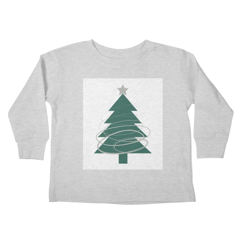 Oh Christmas Tree Kids Toddler Longsleeve T-Shirt by thelyndsimae's Artist Shop