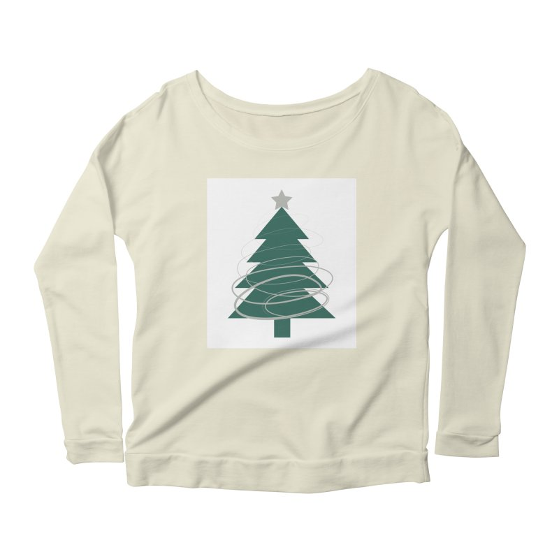 Oh Christmas Tree Women's Scoop Neck Longsleeve T-Shirt by thelyndsimae's Artist Shop