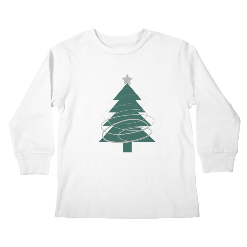 Oh Christmas Tree Kids Longsleeve T-Shirt by thelyndsimae's Artist Shop