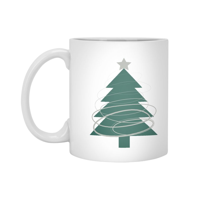 Oh Christmas Tree Accessories Standard Mug by thelyndsimae's Artist Shop