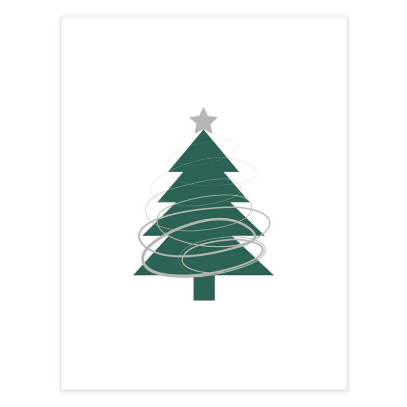 Oh Christmas Tree Home Fine Art Print by thelyndsimae's Artist Shop