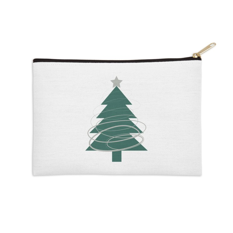 Oh Christmas Tree Accessories Zip Pouch by thelyndsimae's Artist Shop