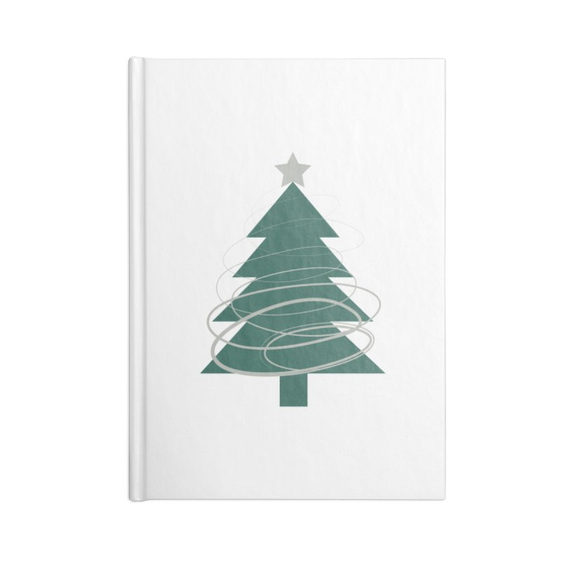 Oh Christmas Tree Accessories Notebook by thelyndsimae's Artist Shop