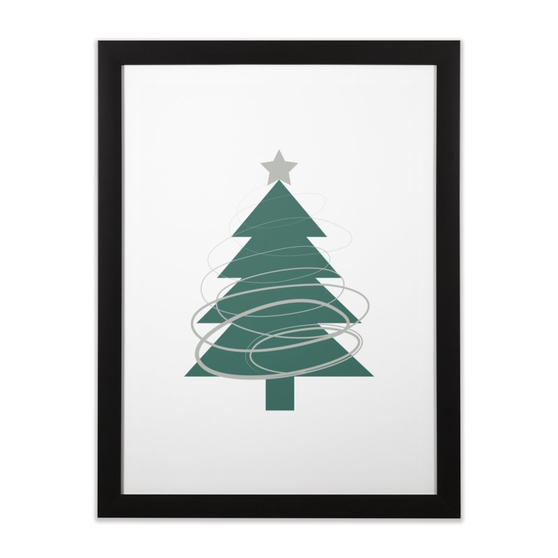 Oh Christmas Tree Home Framed Fine Art Print by thelyndsimae's Artist Shop