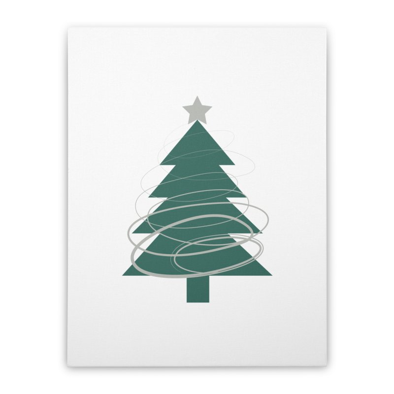 Oh Christmas Tree Home Stretched Canvas by thelyndsimae's Artist Shop