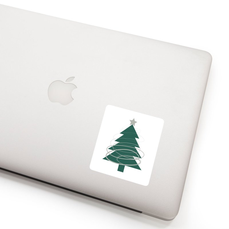 Oh Christmas Tree Accessories Sticker by thelyndsimae's Artist Shop