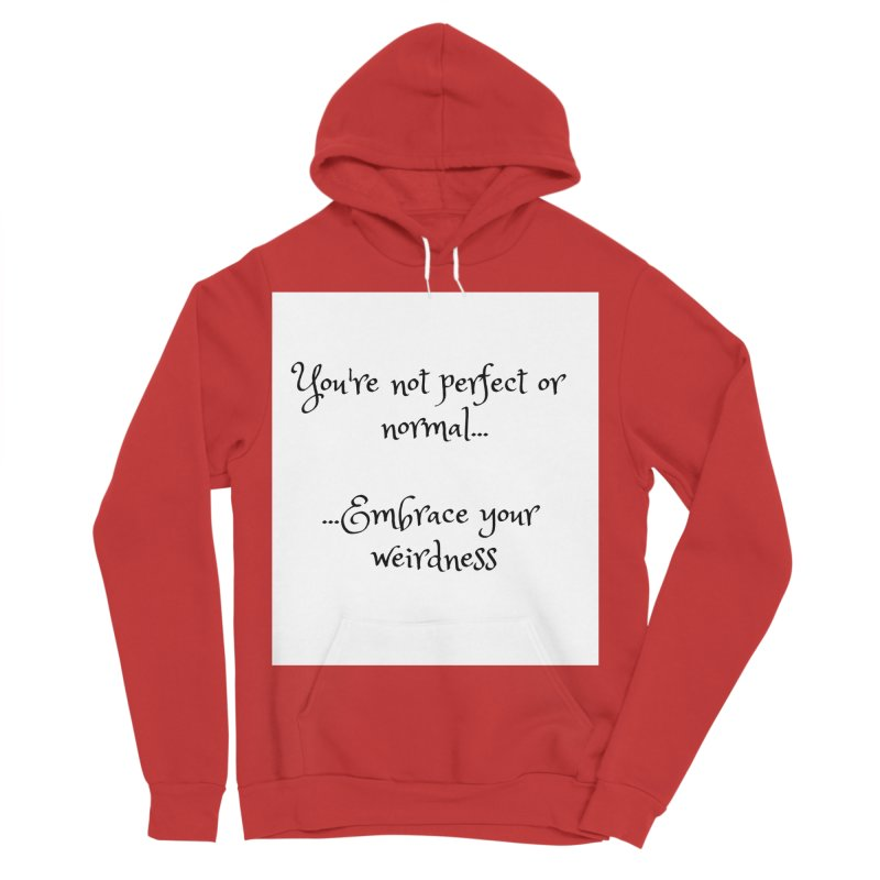 Embrace Your Weirdness Men's Sponge Fleece Pullover Hoody by thelyndsimae's Artist Shop