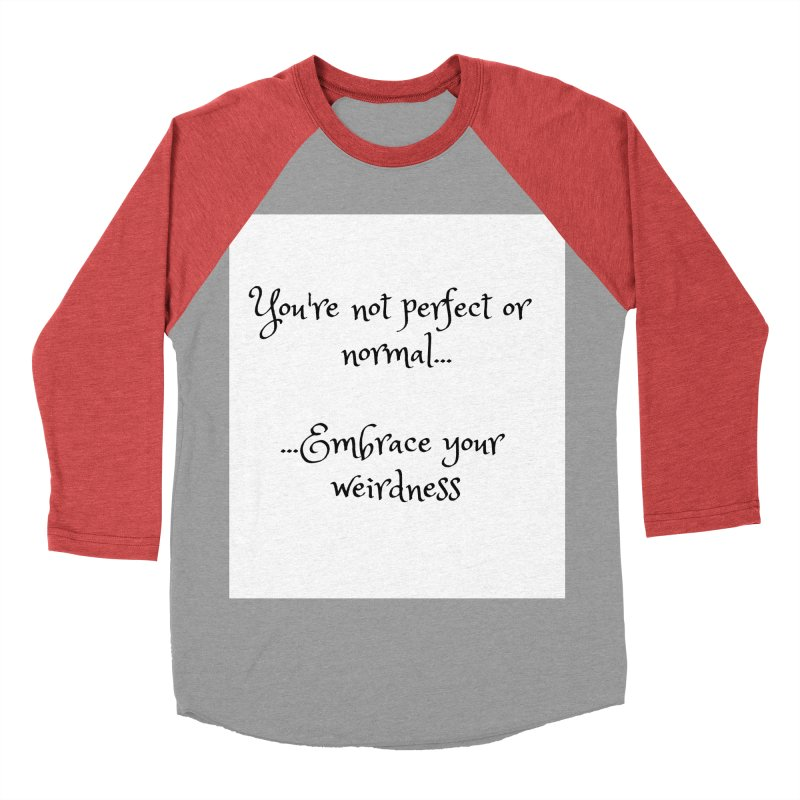 Embrace Your Weirdness Men's Longsleeve T-Shirt by thelyndsimae's Artist Shop