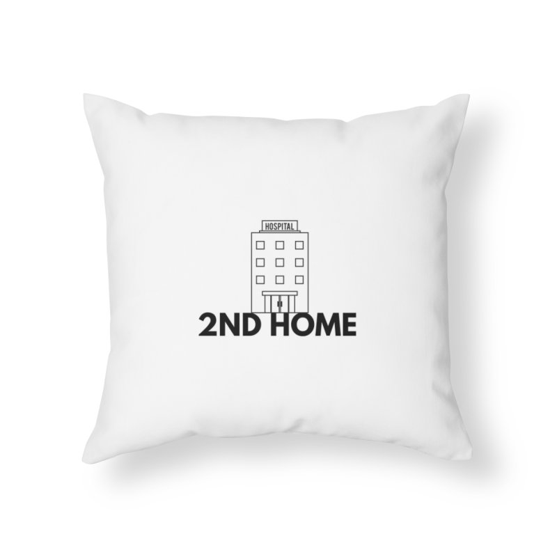 2ND HOME in Throw Pillow by themarkmakersorg's Artist Shop