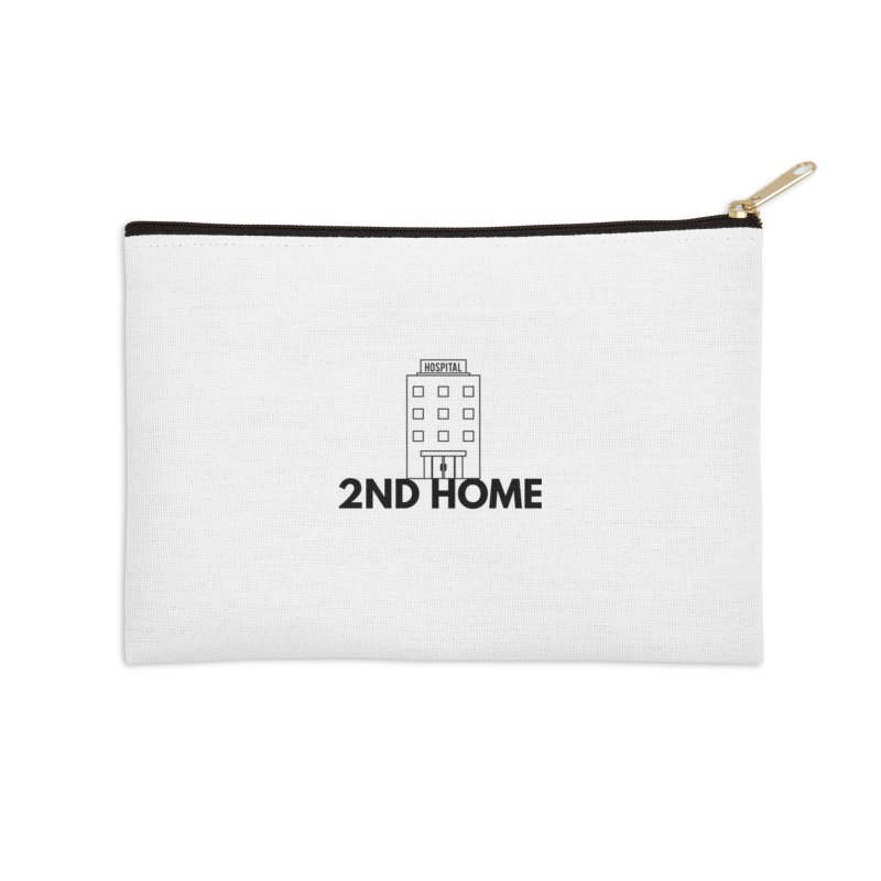 2ND HOME Accessories Zip Pouch by themarkmakersorg's Artist Shop