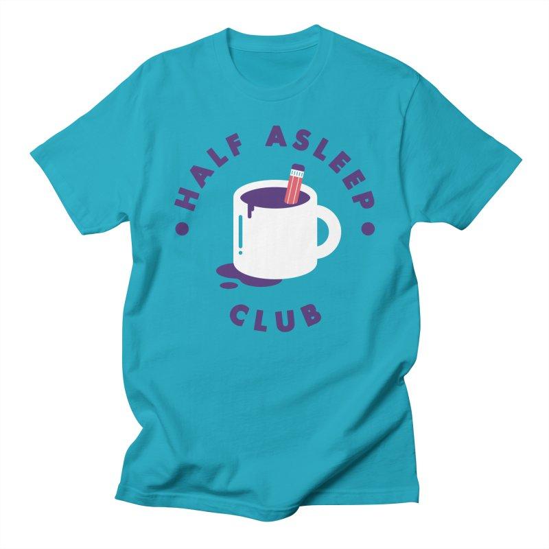 Half Asleep Club Men's T-shirt by themeekshall's Shop