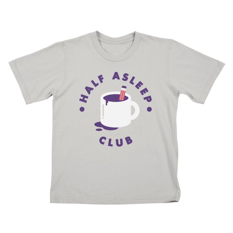 Half Asleep Club Kids T-Shirt by themeekshall's Shop