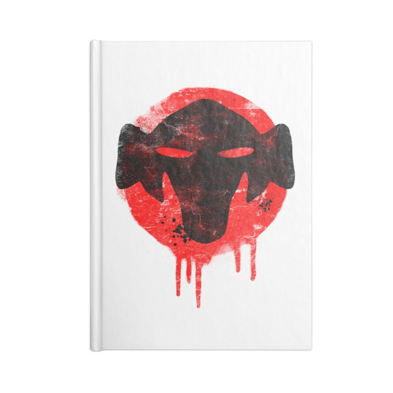Episode III - Special Edition Accessories Lined Journal Notebook by The Mega Plush Shop