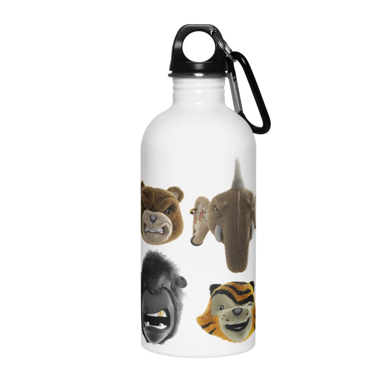 The Mega Plush Team Accessories Water Bottle by The Mega Plush Shop