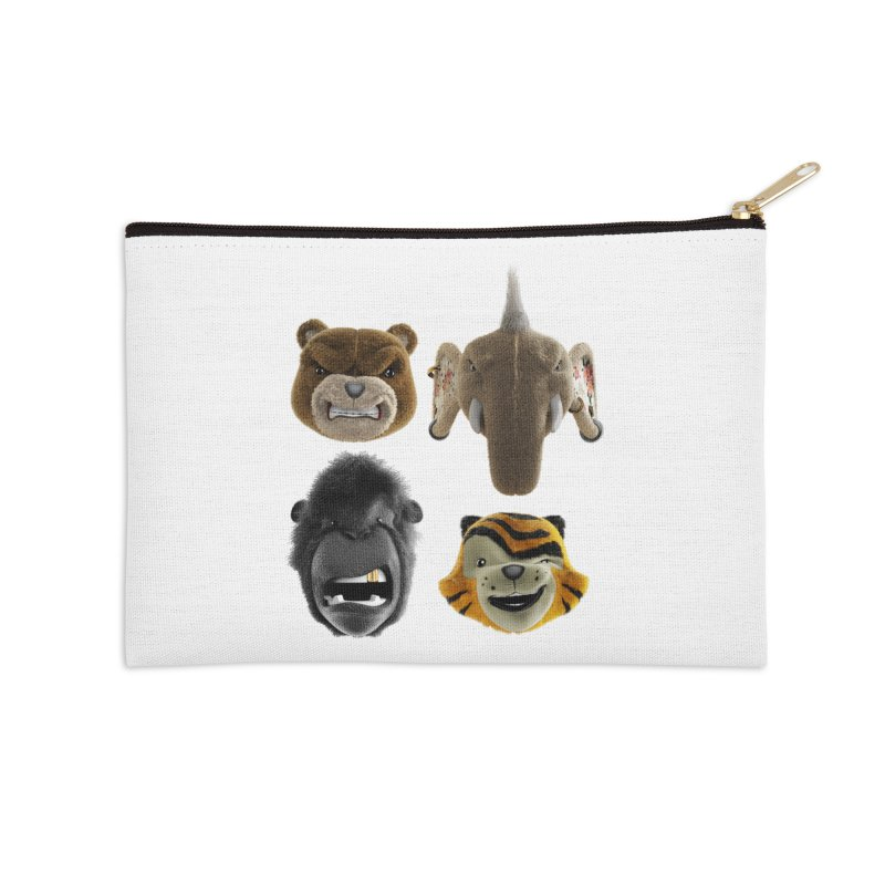 The Mega Plush Team Accessories Zip Pouch by The Mega Plush Shop