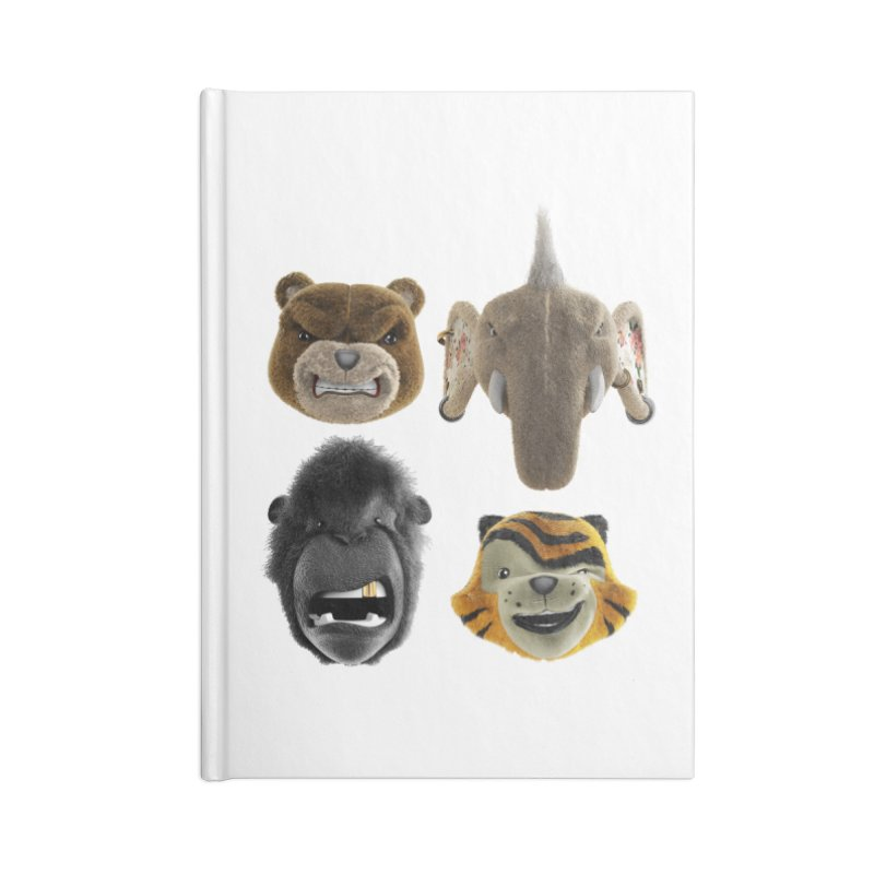The Mega Plush Team Accessories Lined Journal Notebook by The Mega Plush Shop