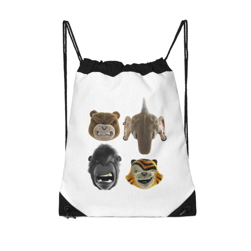 The Mega Plush Team Accessories Drawstring Bag Bag by The Mega Plush Shop
