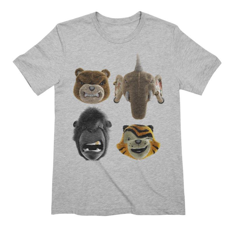The Mega Plush Team Men's Extra Soft T-Shirt by The Mega Plush Shop