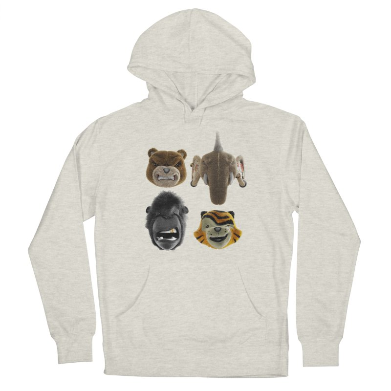 The Mega Plush Team Men's Pullover Hoody by The Mega Plush Shop