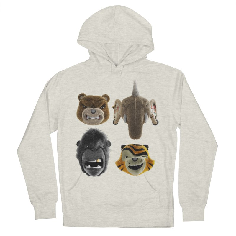 The Mega Plush Team Men's French Terry Pullover Hoody by The Mega Plush Shop