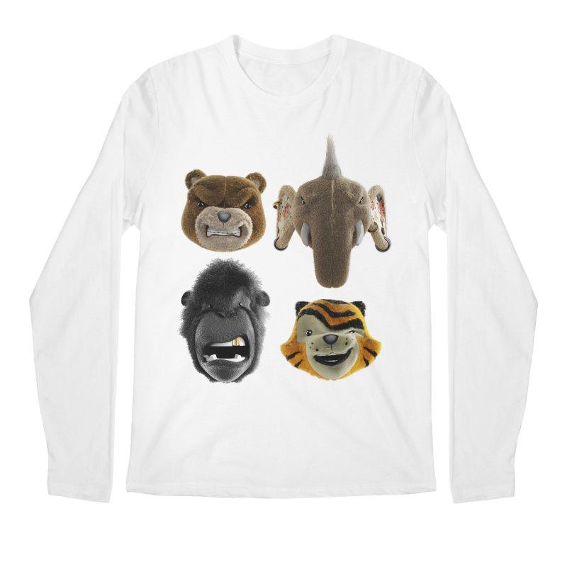 The Mega Plush Team Men's Regular Longsleeve T-Shirt by The Mega Plush Shop