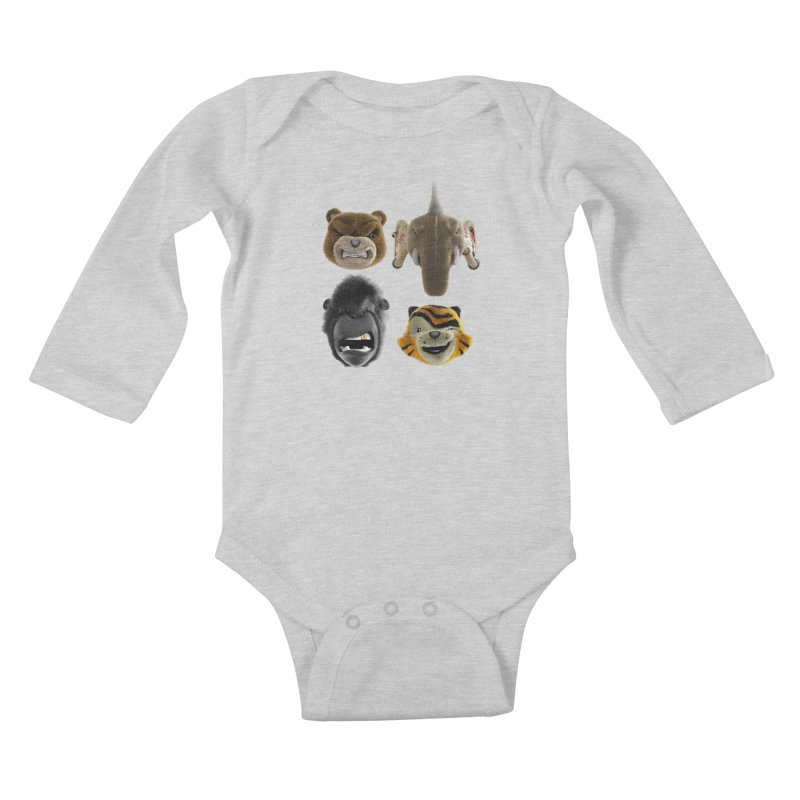 The Mega Plush Team Kids Baby Longsleeve Bodysuit by The Mega Plush Shop