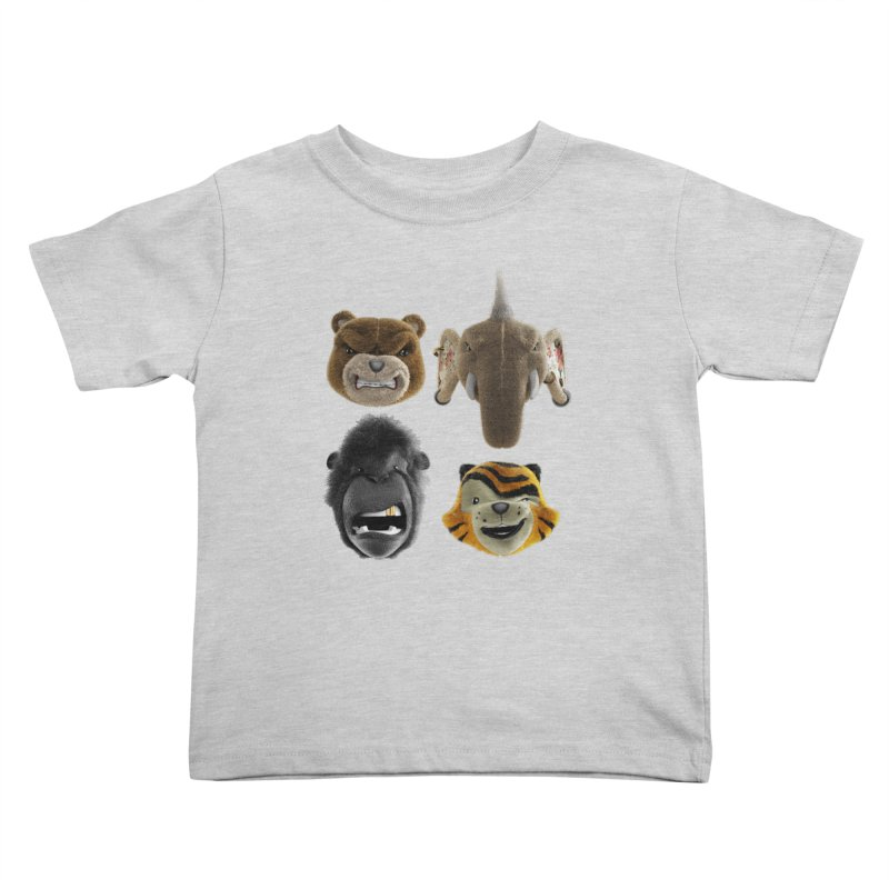 The Mega Plush Team Kids Toddler T-Shirt by The Mega Plush Shop