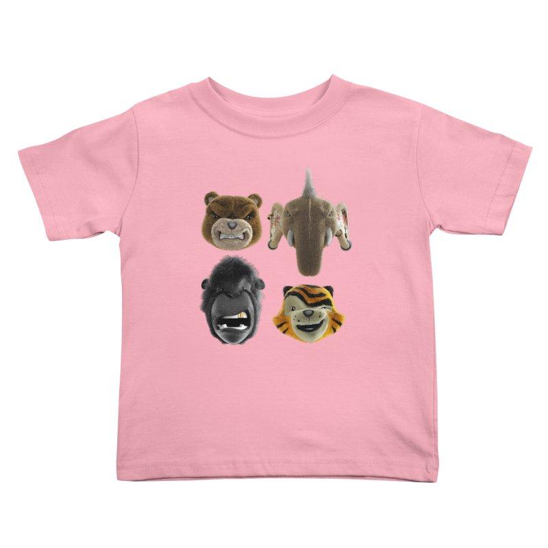 The Mega Plush Team Kids Toddler T-Shirt by The Mega Plush Shop