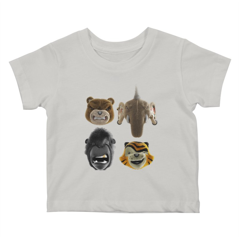 The Mega Plush Team Kids Baby T-Shirt by The Mega Plush Shop