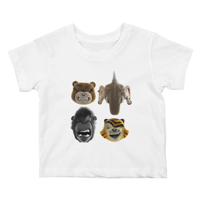 The Mega Plush Team Kids Baby T-Shirt by The Mega Plush Shop
