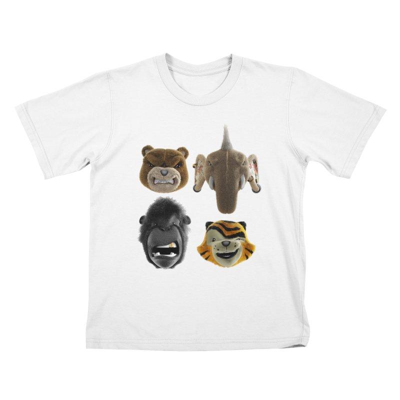 The Mega Plush Team Kids T-Shirt by The Mega Plush Shop