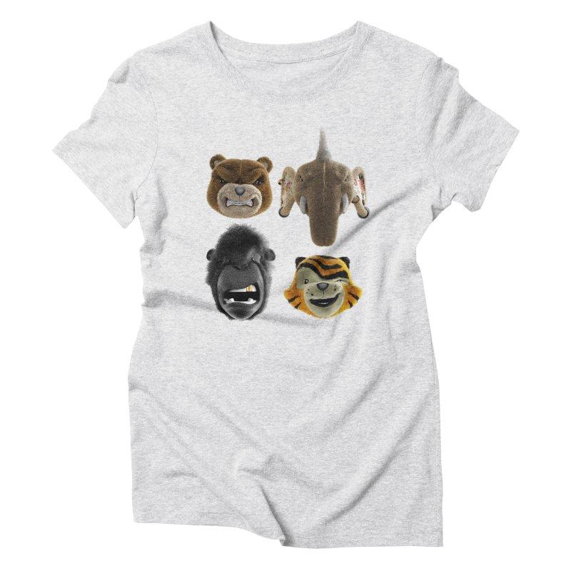 The Mega Plush Team Women's Triblend T-Shirt by The Mega Plush Shop