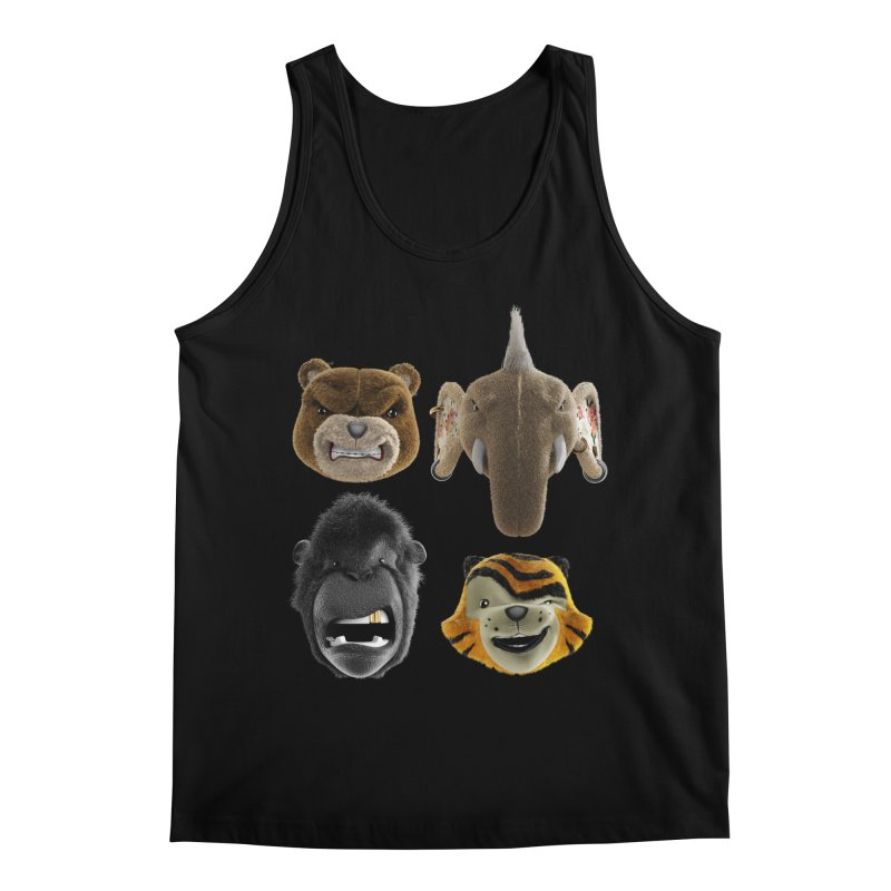 The Mega Plush Team Men's Regular Tank by The Mega Plush Shop