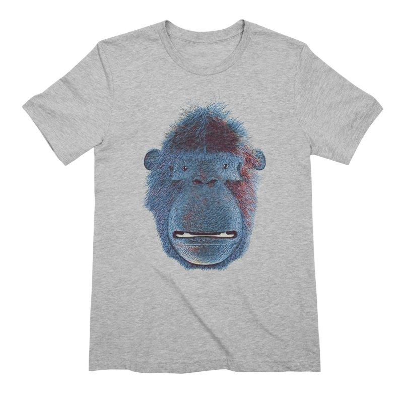 Mac Portrait Men's Extra Soft T-Shirt by The Mega Plush Shop