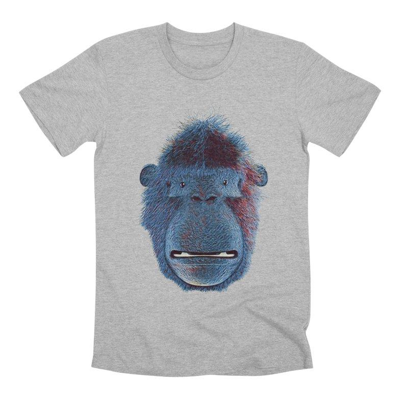 Mac Portrait Men's Premium T-Shirt by The Mega Plush Shop