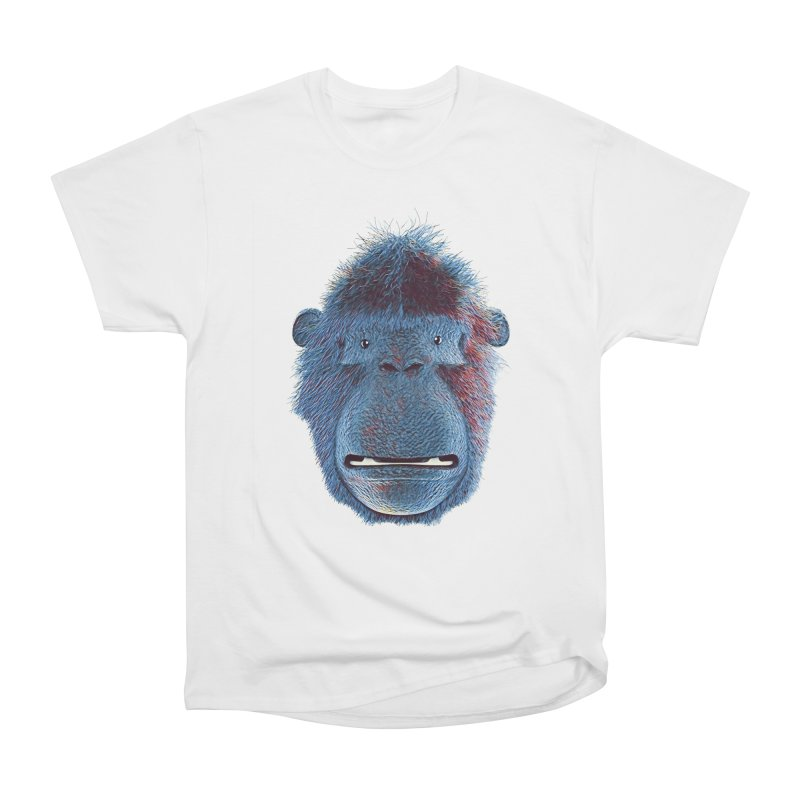 Mac Portrait Men's Heavyweight T-Shirt by The Mega Plush Shop