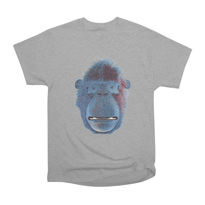 Mac Portrait Men's Heavyweight T-Shirt by The Mega Plush Shop