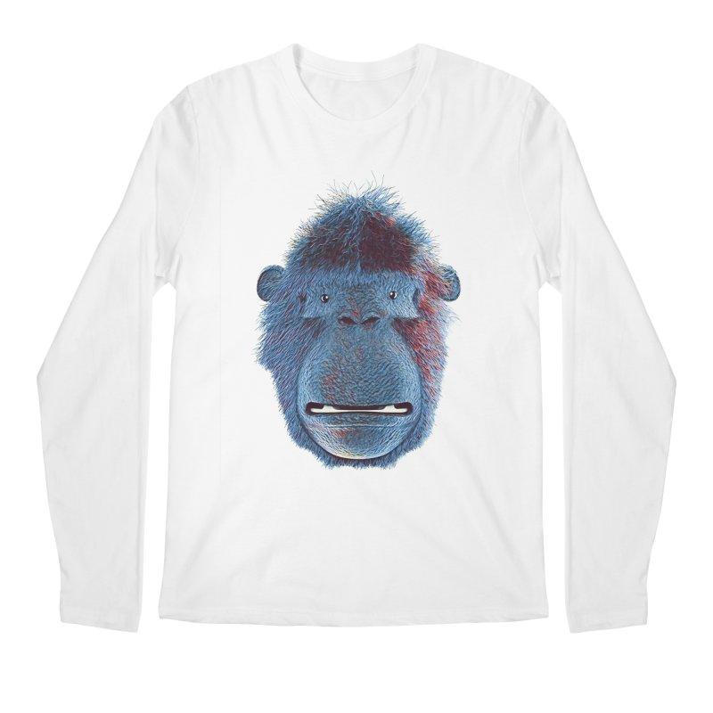 Mac Portrait Men's Regular Longsleeve T-Shirt by The Mega Plush Shop