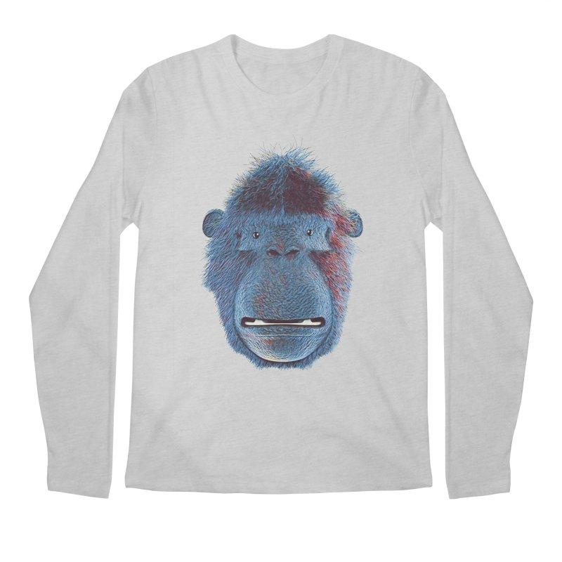 Mac Portrait Men's Longsleeve T-Shirt by The Mega Plush Shop