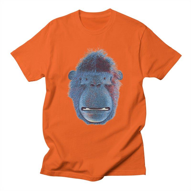 Mac Portrait Men's T-Shirt by The Mega Plush Shop